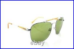 RARE New Authentic TOM FORD EDWARD Silver Orange Green Sunglasses TF 377 14N