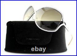 RARE New Genuine TOM FORD RICKIE Pink Silver Butterfly Sunglasses TF 179 72F FT