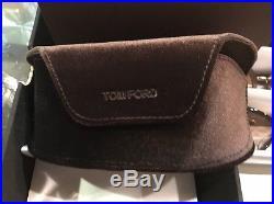 Sunglasses Tom Ford DAKOTA-02 TF 554 FT0554 01C Shiny Black / Smoke Mirror