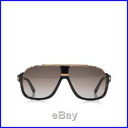 Sunglasses Tom Ford Elliot FT 0335 60 10 135 01P Shiny Black 100% Authentic new