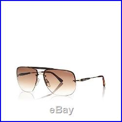 Sunglasses Tom Ford Nils FT 0380 61 13 140 28F Rose Gold 100% Authentic new