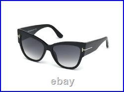 Sunglasses Tom Ford Original FT0371 ANOUSHKA shiny black gradient 01B