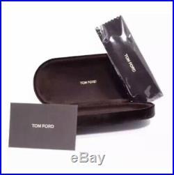 TOM FORD ALEX-02 TF 541 01F Black Gold Brown Gradient Mirror Sunglasses Unisex
