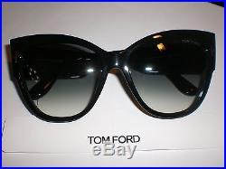 TOM FORD ANOUSHKA TF371/01B Black 5716140 AUTHENTIC NEW NO CASE SALE