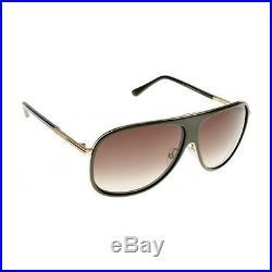 TOM FORD Aviator Herren Sonnenbrille CHRIS FT0462S 98K Grün Gold / Braun verlauf