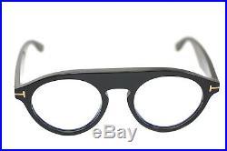 TOM FORD CHRISTOPHER 2 BLUE BLOCK OPTICALS TF633 001 49mm Mens Eyeglasses BLACK