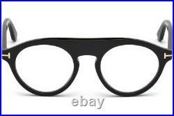 TOM FORD Christopher-02 FT0633 001 Eyeglasses Shiny Black Frame 49 mm
