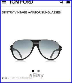 Tom Ford Dimitry Vintage Aviator Sunglasses