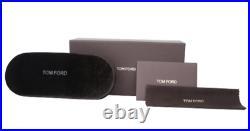 TOM FORD Eugenio FT0676 52N TFL Sunglasses Dark Havana Frame Green Lenses 50 mm