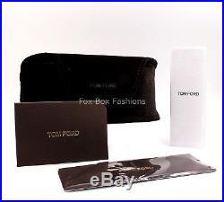 TOM FORD FT 0371 01Z Anoushka Sunglasses Black Pink Gold Mirror Flash NEW