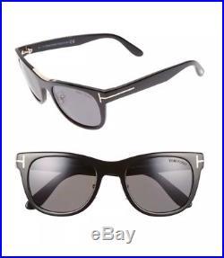 941879c33d0a4 TOM FORD FT0045 TF 0045 01D JACK Black Grey Polarized Men Sunglasses Small  51mm