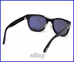 TOM FORD FT0045 TF 0045 01D JACK Black Grey Polarized Men Sunglasses Small 51mm