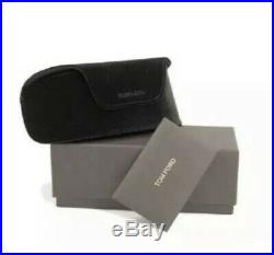 TOM FORD FT0617 TF 617 01B Katrine 02 Square Sunglasses Black Gold Grey Gradient