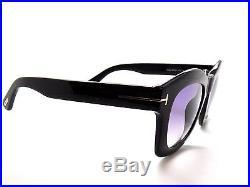 Tom Ford Greta Tf431 Black/violet Gradient 01z Sunglasses 431