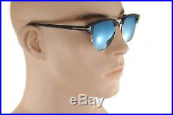 TOM FORD HENRY 0248 05X 51mm MEDIUM Men Square Sunglasses GOLD BLACK BLUE MIRROR
