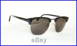 3e001f17988 Tom Ford Henry Ft0248 05n Black Gold Clubmaster Sunglasses 51 James Bond  Spectre