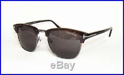 5ee15840b95b4 Tom Ford Henry Ft0248 52a Havana Brown Vintage Sunglasses 51 James Bond  Spectre