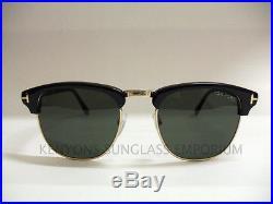 Tom Ford Henry Sunglasses Tf248 05n Black/green Lenses James Bond Spectre 53-20