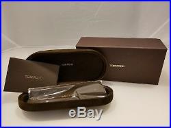 d85630df685 TOM FORD HUGH TF337 01N Shiny Black Polarized Lenses Men Sunglasses size  55-16