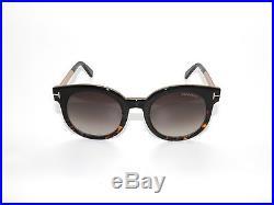 Tom Ford Janina Tf435 435 Black/havana/brown Gradient 01k Sunglasses
