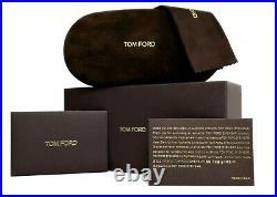 TOM FORD James Bond 007 SKYFALL Pilot SUNGLASSES Silver Blue MARKO 0144 18V 58mm
