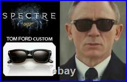 TOM FORD James Bond 007 SPECTRE SUNGLASSES Black Havana Grey SNOWDON 0237 05B