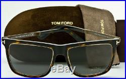 TOM FORD KARLIE FT0392 52J Dark Havana-Gold-Grey Lens TF392 NEW ITALY 57-17-140