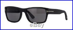 TOM FORD MASON TF 445 02D Matte Black POLARISED Sunglasses Sonnenbrille Size 58