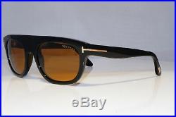 TOM FORD Mens Designer Sunglasses Black Rectangle Fedenco-02 TF 594 01E 20419