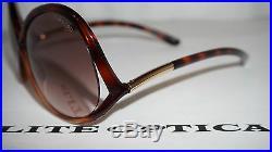 TOM FORD New Authentic Sunglasses Dark Havana/Pink Brown FT0372 52F 54 08 135