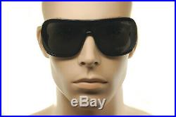 TOM FORD PORFIRIO 2 TF559 01A Mens Large SQUARE SHIELD Sunglasses BLACK GREY 02