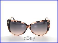 Tom Ford Reveka Tf512 55b Pink Havana Gold Titanium Sunglasses 512 New