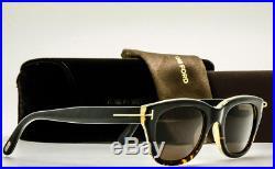 TOM FORD SNOWDON FT0237 05J Black Havana-Brown Lens TF237 SPECTRENEW 50-21-145