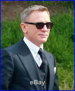TOM FORD SNOWDON James Bond 007'SPECTRE' Mens Sunglasses BLACK BLUE 0237 05V