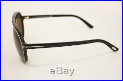 TOM FORD Sergio FT TF 0379 379 sunglasses 01A Black Gold Aviator MEN