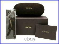 TOM FORD Square Pilot Men SUNGLASSES Gold Havana Torte Brown LIONEL 0750 52J 62