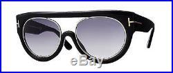 TOM FORD Sunglasses ALANA TF360-01B Black Frame / Gradient Smoke Lens NIB