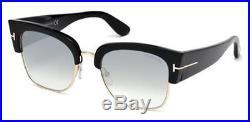 TOM FORD Sunglasses FT0554 DAKOTA-02 01C Shiny Black 55MM
