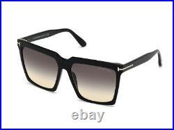 TOM FORD Sunglasses FT0764 01B Black smoke Authentic