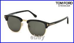 TOM FORD Sunglasses Henry TF248 (05N) Black / Gold RRP-£260
