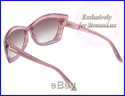 TOM FORD Sunglasses TF 280 LANA 83Z Cat Eye Purple Lilac Pink