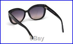 TOM FORD Sunglasses TF524 ALISTAIR 01B Black / Gradient Smoke RRP-£240