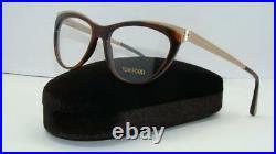 TOM FORD TF 5373 052 Havana & Gold Brille Glasses Frames Eyeglasses Size 53