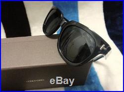 TOM FORD TF211 Men's Fashion Summer Sunglasses, Black/Silver