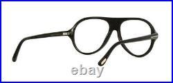 TOM FORD TOM N. 1 FT5437 63A Black Horn Sunglasses Eyeglasses Frames Brille 53mm