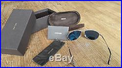 TOM FORD William TF 207 17V Silver/ Blue Sunglasses