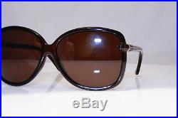 TOM FORD Womens Boxed Designer Sunglasses Brown Square Callae TF165 48F 16930