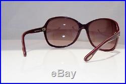 TOM FORD Womens Designer Sunglasses Burgundy Butterfly Sheila TF 186 83Z 18702