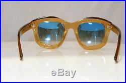 TOM FORD Womens Mirror Boxed Sunglasses Brown Square Julia 02 TF 582 45P 22070