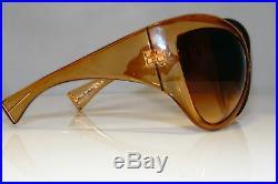 TOM FORD Womens Oversized Designer Sunglasses Brown Ski FT 0219 45F 17114